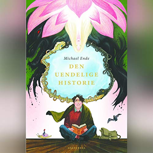 Den uendelige historie audiobook cover art