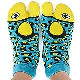 Blue Funny Novelty Socks - Perfect Stocking Stuffer, Secret Santa Gift, White Elephant Gift Idea - Unisex - Great Gift for Teenagers, Men or Women