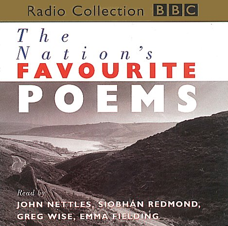 The Nation's Favourite Poems                   By:                                                                                                                                 BBC Audiobooks                               Narrated by:                                                                                                                                 John Nettles,                                                                                        Siobhan Redmond,                                                                                        Greg Wise,                   and others                 Length: 2 hrs and 1 min     1 rating     Overall 5.0