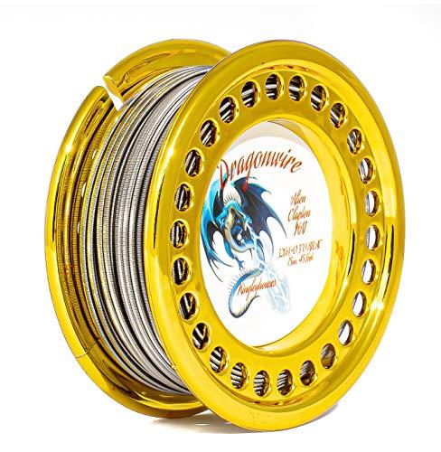 15m Alien Clapton Wickeldraht KA1 FeCrAl oder SS316L Edelstahl Draht Kingleyhouses Dragonwire Wire Selbstwickler (15m Alien Clapton KA1)