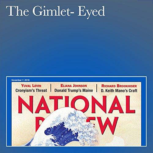 The Gimlet-Eyed audiobook cover art