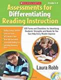 Assessments for Differentiating Reading Instruction: 100 Forms on CD and Checklists for Identifying Students' Strengths and Needs So You Can Help Every Reader Improve