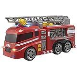 Teamsterz 1416390 Camión de Bomberos con Luz y Sonidos, 42 cm