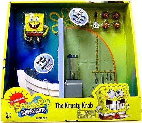 centro comercial de moda SpongeBob Squarepants Squarepants Squarepants Playset The Krusty Krab by SpongeBob SquarePants  perfecto
