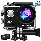 4K Action Kamera WiFi 170Weitwinkel Helmkamera Unterwasserkamera -VON Tonbux- 4K HD /...