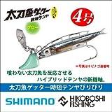 シマノ テンヤ 太刀魚ゲッター 時短テンヤびりびり OO-304K 01T ナチュラルグロー サイズ(号):4