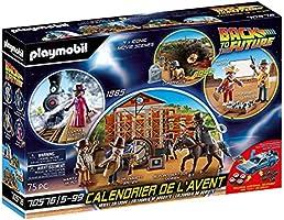 "PLAYMOBIL 70576 Calendario de Adviento ""Back to the Future Parte III"", A partir de 5 años"