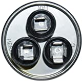 Packard PRCD355  35 + 5 uF MFD x 370 VAC Genteq Replacement Dual Capacitor Round # C3355R / 97F9834