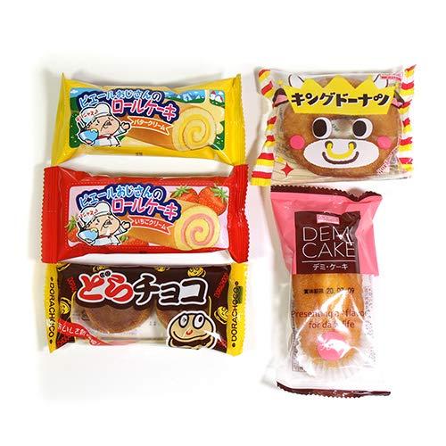 駄菓子のかわいい洋菓子セット A (5種・計25コ) おかしのマーチ