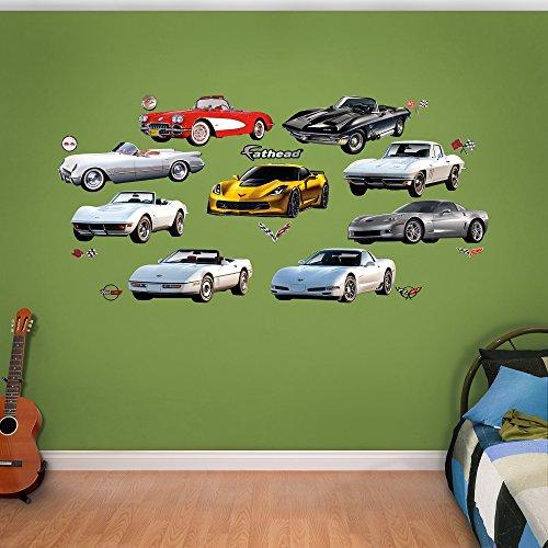 FATHEAD Corvette Generations Collection Real Calcomanías
