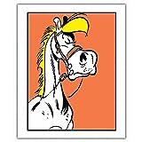 ZigZag Editions Poster Offset Lucky Luke, Jolly Jumper