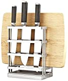 Soporte magnético para Cuchillos Bloque de cuchillo de acero inoxidable Cuchillo de cocina Bloque...