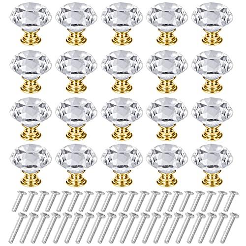 Pomos Y Tiradores Cristal Marca C100AE