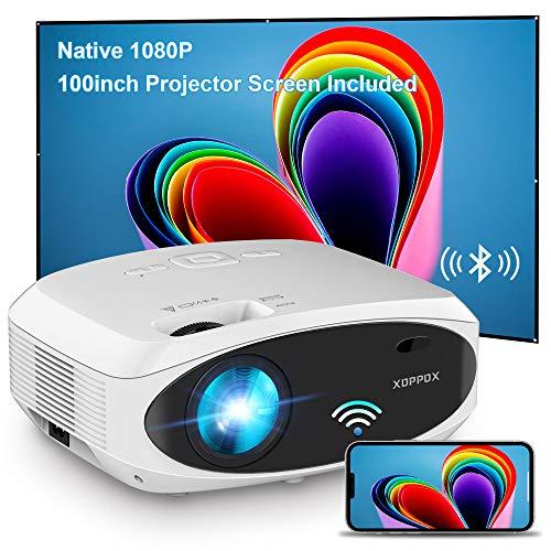 XOPPOX WiFi Video Projector