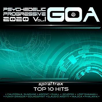 Psychedelic Progressive Goa 2020 Top 10 Hits Spiral Trax, Vol 1