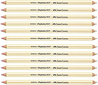 Faber- Castell Perfection Eraser Pencil - Double Ended 12-Pack