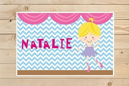 Ballerina-Placemats -A personalised-gift idea for girls