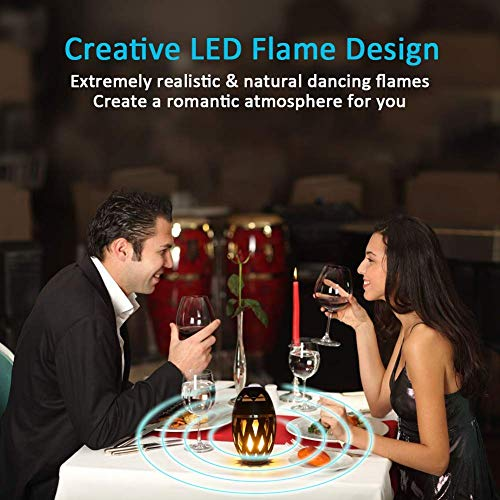 LED Flickers Warm Night Lights for iPhone/iPad/Android