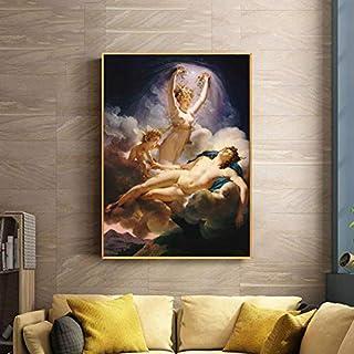 PLjVU Carteles e Impresiones francesas sobre Lienzo, Arte de la Pared, Lienzo, decoración de la Sala de Estar, Cuadros de Pintura Famosos-Sin marco30x40cm