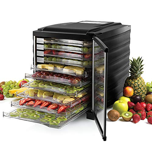 Buy Bargain Health Food Dehydrator|10 Trays| Fruit-Meat Dryer, Home Drying Machine Commercial Pet Snacks Food Dryer, BPA-Free