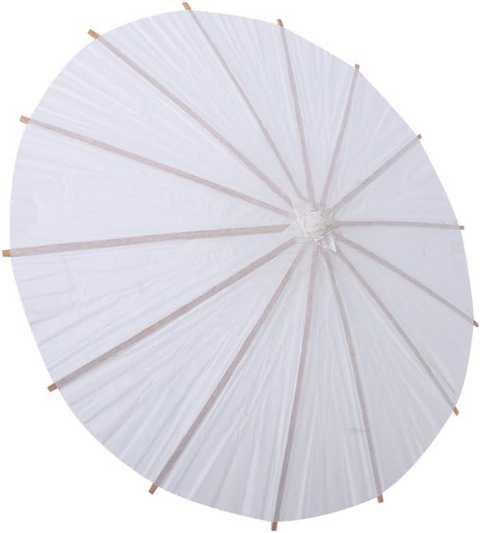 Nannday White Paper unisex San Francisco Mall Umbrella Parasol Accessory Chinese Japanese