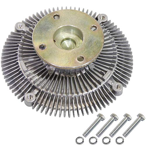 TOPAZ 2570 Engine Cooling Thermal Fan Clutch for Nissan D21 Frontier Maxima Pickup Xterra 2.4L L4
