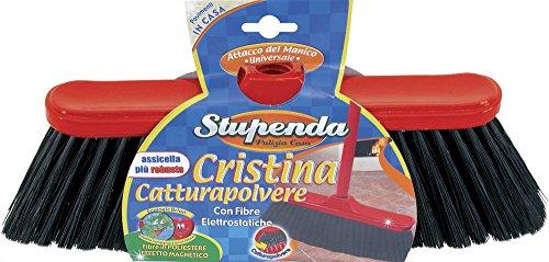 Scopa Cristina Catturapolvere con fibre elettrostatiche