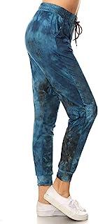 Leggings Depot Premium Women's Joggers Popular Printed High Waist Track Yoga Full Pants (S-XL) BAT4