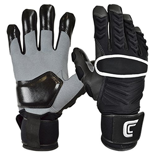 Cutters The Reinforcer American Football Lineman Handschuhe - schwarz Gr. XL