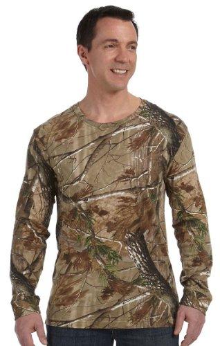 Code V Adult REALTREE® Camouflage Long-Sleeve T-Shirt - Realtree AP HD - L by Code V