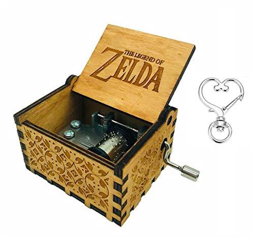 Cuzit The Legend of Zelda Spieluhr, mit Handkurbel, aus Holz