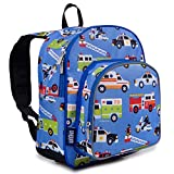 THE PERFECT SIZE – Fill it up! The 12 Inch travel bag Backpack's just-right size means you can bring the school supplies and snacks. Measuring 12.5 x 10.5 x 7.5 inches, with two zippered compartments this backpack is perfect for preschool, daycare, a...