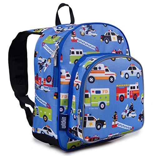 Wildkin Backpack for Toddlers, Boys and Girls Ideal for Daycare, Preschool and Kindergarten, Perfect Size for School and Travel, Mom's Choice Award Winner, Heroes