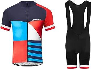 comprar comparacion Uglyfrog Bike Wear De Manga Corto MTB Maillot+Bib Pantalones Cortos Ciclismo Hombre Bodies Tights with Gel Pad Summer Styl...