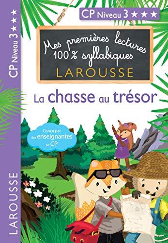 1ERES LECTURES 100% SYLLABIQUES - LA CHASSE AU TRÉSOR