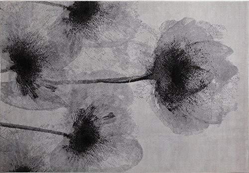 ESPRIT Night Shade Moderner Markenteppich, Polyester Mikrofaser, Silber, 230 x 160 x 1.1000000000000001 cm