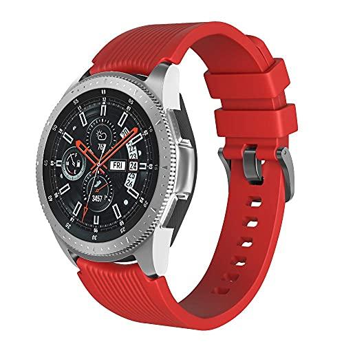 Correa de Reloj 20 mm Compatible para Samsung Galaxy Watch 42 mm / 3 41 mm / Sport Correa de Reloj Silicona Correa de Reloj Repuesto Ajustable Compatible con Amazfit Bip Compatible con Huawei Watch GT