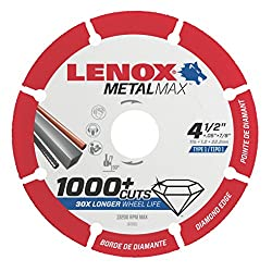 LENOX Tools Cutting Wheel Blade Review