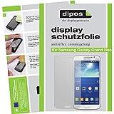 dipos I 2X Schutzfolie matt kompatibel mit Samsung Galaxy Grand Neo Folie Bildschirmschutzfolie
