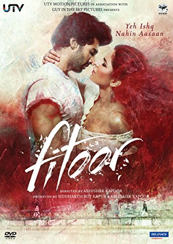 FITOOR (Hindi mit englischem Untertitel) - Film - Bollywood DVD - Katharina Kaif, Tabu, Aditya Roy Kapur - 2016