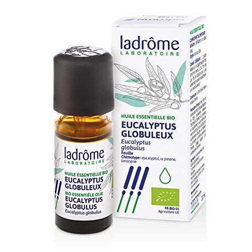 Ladrome - Huile essentielle eucalyptus globuleux bio - 10 ml huile essentielle eucalyptus globulus