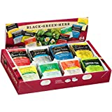 Bigelow Herbal Tea Variety Assortment Pack of 64 Tea Bags Featuring English Teatime, Const...