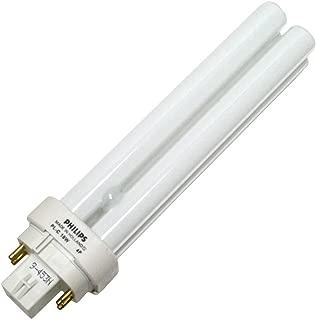 Philips Fluorescent Light Bulb, 1200 Lumen, PL-C 4 P, 18 W