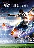 AVERY Zweckform Stickeralbum Fußball (Stickerbuch leer, Album zum Sammeln, Sticker Sammelalbum blanko, Jungen Geschenke, A5, 16 Seiten 1 Album für Jungen) 57792