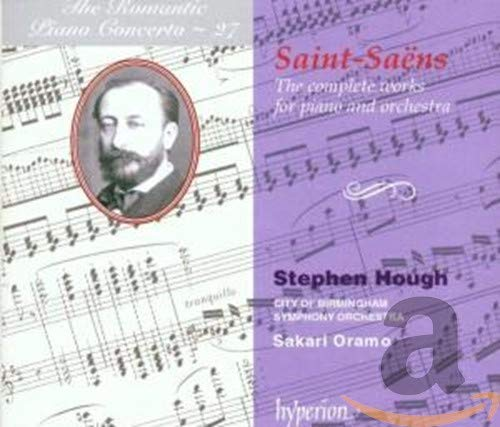 Saint-Saens: The complete works for piano and orchestra