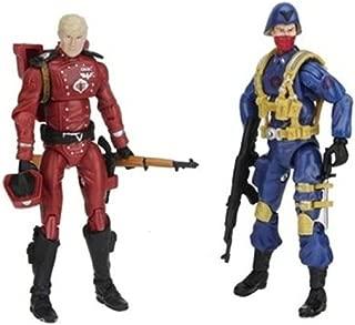 G.I. JOE 25th Anniversary Comic Pack: CRIMSON GUARD and SCARRED COBRA OFFICER
