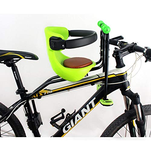Learn More About AIBAB Bicycle Child Seat Baby Seat Front Mountain Bike Seat Child Saddle Pad Car Ca...