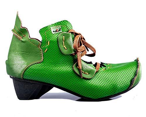 TMA 8619 Damen Halbschuhe grün - EUR 42