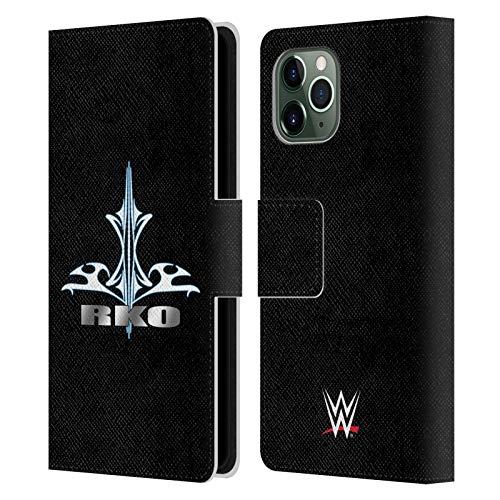 Head Case Designs Ufficiale WWE Randy Orton RKO Destiny 2018/19 Superstars 5 Cover in Pelle a Portafoglio Compatibile con Apple iPhone 11 PRO