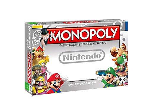 MONOPOLY Nintendo - das berühmte Spiel um den großen Deal mit deinen Nintendo-Helden Zelda, Super Mario und Luigi | Gesellschaftsspiel | Familienspiel | Brettspielklassiker |
